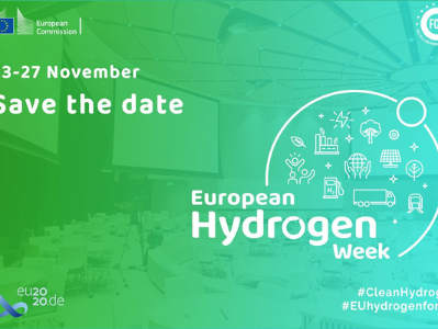 SAVE THE DATE! EUROPEAN HYDROGEN WEEK – 23 TO 27 NOVEMBER 2020